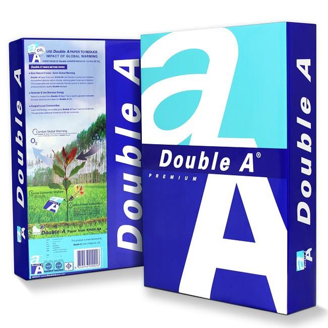Giấy Double A A4 - định lượng 80gsm