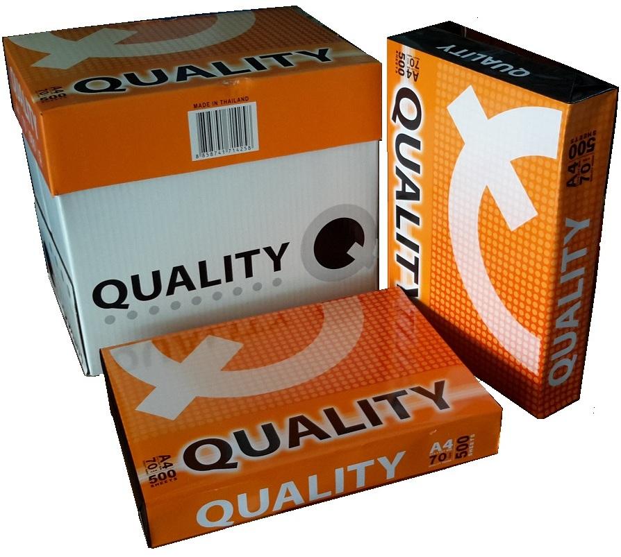 Giấy Quality A4 - định lượng 70gsm