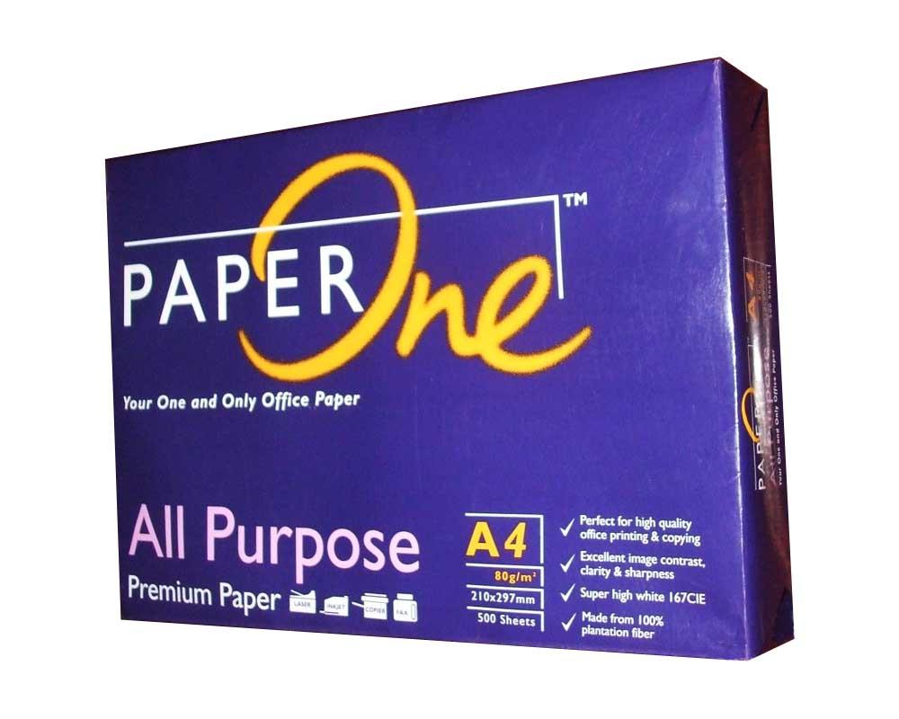 Giấy Paper One A4 - định lượng 80gsm